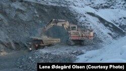 Рудник в Киркенесе. Фотография Лене Одегард Олсен