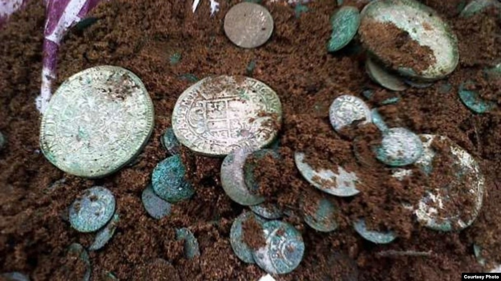 Скарбы XVII стагодзьдзя трапляліся сялянам найчасьцей