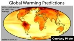 ین احتمال مطرح شده است که در قرن بیست و یکم، هوای کره زمین سه درجه سانتیگراد گرمتر شود.