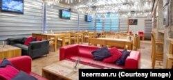 Пустой зал одного из заведений Beerman