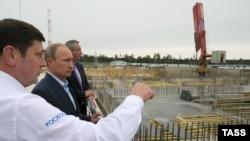 """В.Путин на """"Восточном"""""""
