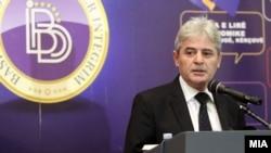 Kryetari i BDI-së, Ali Ahmeti