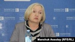 Президент прессозащитной организации «Адил соз» Тамара Калеева. Алматы, 21 декабря 2016 года.