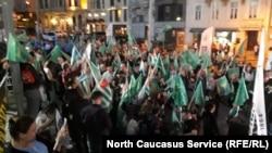 Шествие черкесов в Стамбуле