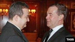 Dmitry Medvedev i Ivica Dacic