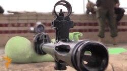 Ukraina: Snaýperler mekdebi