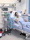 Սիրանույշ Սահակյանը հիվանդանոցի վերակենդանացման բաժանմունքում, 19-ը հոկտեմբերի, 2021թ․