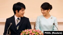 Принцесса Мако и её муж Кей Комуро