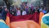 Montenegro -- LGBT pride (gay) in Podgorica, October 16, 2021.