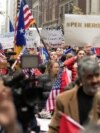 New York: Protesters Rally in New York for Balkan War Rape Victims
