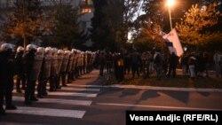 Policija sprečila protest desničara ispred ambasade SAD u Beogradu
