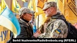 Как украинцы празднуют День защитников и защитниц (фотогалерея)
