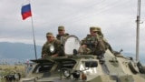 GEORGIA - Russian peacekeepers at the Georgian-South Ossetian border, August 06, 2008