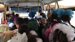 Один автобус на 200 школьников