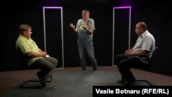 Punct și de la capăt. Vitalie Călugăreanu, Corneliu Ciurea și Vasile Botnaru în dialog.