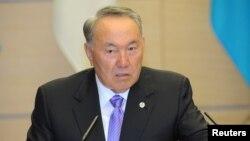 Президент Казахстана Нурсултан Назарбаев. Токио, 7 ноября 2016 года.