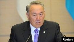 Gazagystanyň prezidenti Nursultan Nazarbaýew