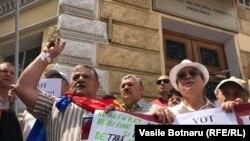 Proteste împotriva invalidării scrutinului