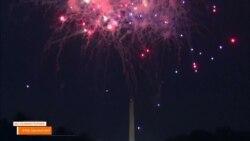 Без комментариев. Фейерверки в День независимости США.