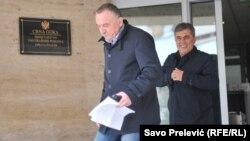 Milutin Đukanović (na slici desno): Škrelja, očigledno, želi da se predstavi kao žrtva diskriminacije na vjerskoj i nacionalnoj osnovi