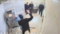عکسی برگرفته از یکی از ویدئوهای منتشرشده از زندان اوین
