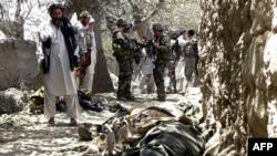 مناطق نيمه خودگردان پاکستان در خط مرزی با افغانستان به پايگاهی برای اعضای مسلح طالبان تبدیل شده است، (عکس از AFP)