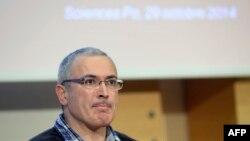 Михаил Ходорковский, основатель организации «Открытая Россия».