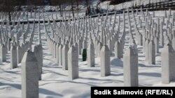 Mezarje za žrtve genocida u Srebrenici