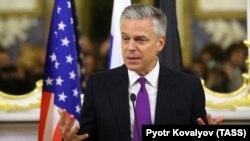 Посол США в Росії Джон Гантсман