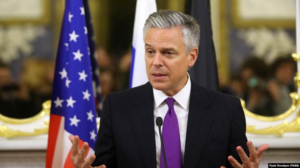 us ambassador to russia jon huntsman file photo