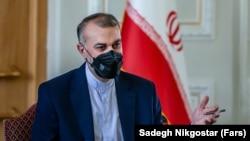 Ministri i Jashtëm i Iranit, Hossein Amir-Abdollahian.