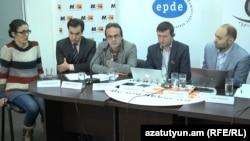Представители инициативы «Гажданин-наблюдатель» (архив)