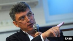 Сопредседатель партии РПР-ПАРНАС Борис Немцов