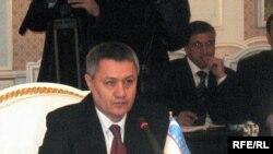Рустам Азимов, первый вице-премьер и министр финансов Узбекистана.