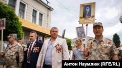 Парад к российскому «Дню победы» в Симферополе (архивное фото)