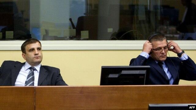 Milan i Sredoje Lukić u haškoj sudnici - iz arhive