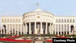 «Оксарой» – «Белый дворец», название резиденции президента Узбекистана. Фото: UzReport.