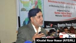 د بلوچستان نېشنل ګوند اختر مېنګل