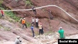 В село Чалма проводят воду.