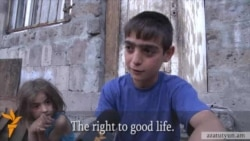 Armenian Teenager Has Questions To Government Officials