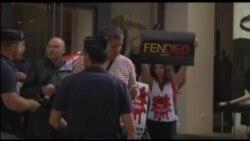 Защитники прав животных против коллекции Fendi