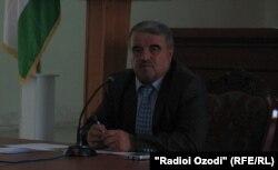 Ҷумъахон Сафаров, раиси ноҳияи Шаҳритус