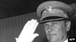 Yugoslav President Josip Broz Tito in 1953