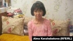 Аида Ахметова, пенсионерка. Алматы, 22 октября 2013 года.