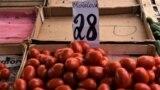 Prețul la roșii, dar și anii de la independență parcurși de Republica Moldova. 14 iunie 2019, Chișinău