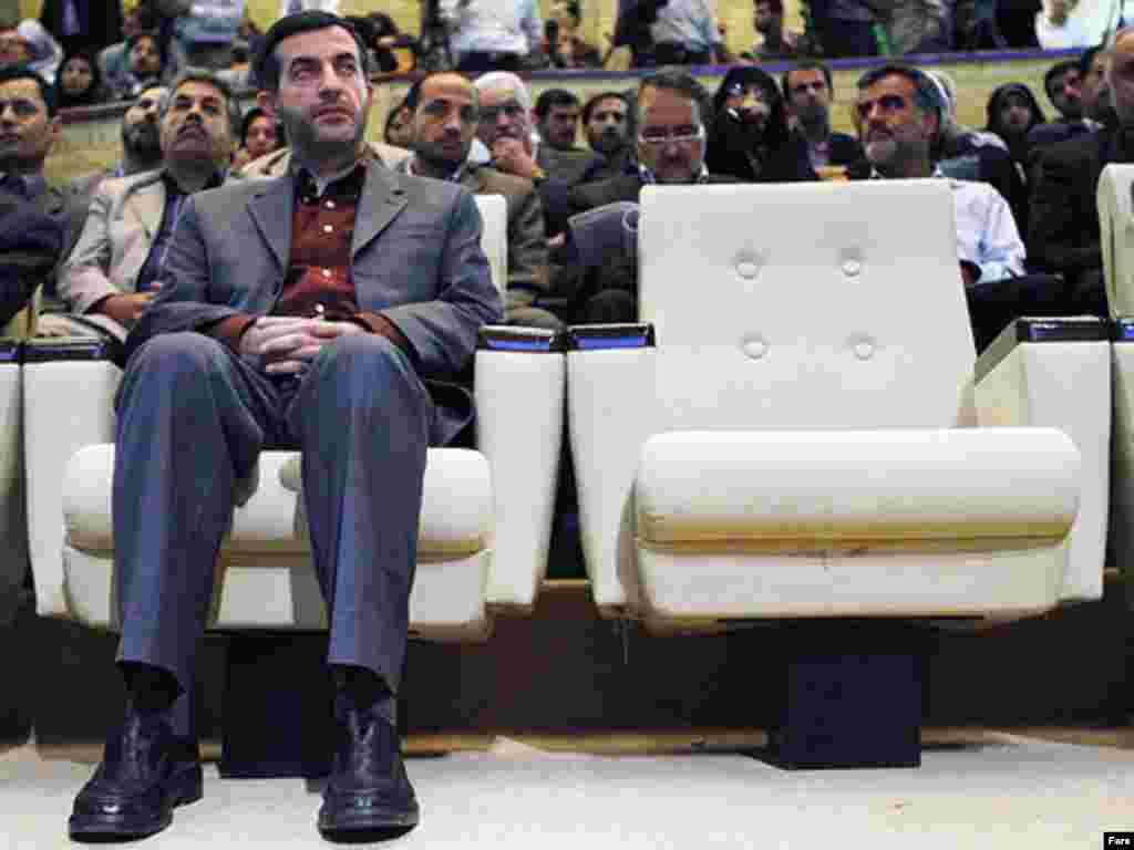 Iran -- Esfandiar Rahim-Mashaei; Iran's vice president, undated