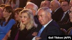 Сара и Беньямин Нетаньяху. Архивное фото.