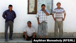 Местные жители села имени Комекбаева Кызылординской области.