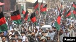 آرشیف، معترضان در فاریاب