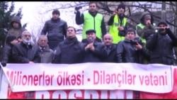 Milli Şuranın mitinqinə reaksiyalar